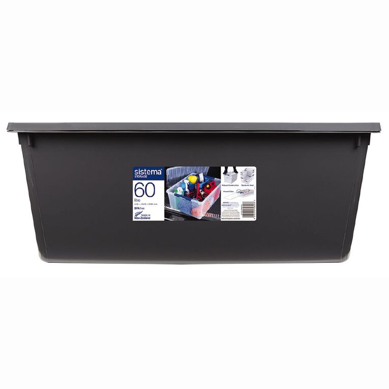 Sistema Storage Bin Grey 60L, , hi-res