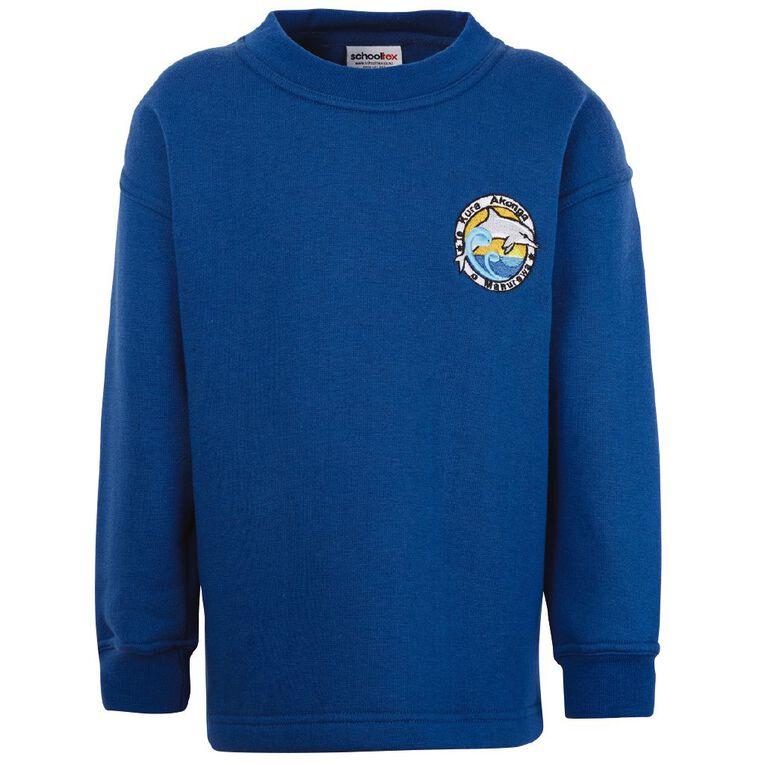 Schooltex Te Kura Akonga O Manurewa Tunic Sweatshirt with Embroidery, Royal, hi-res