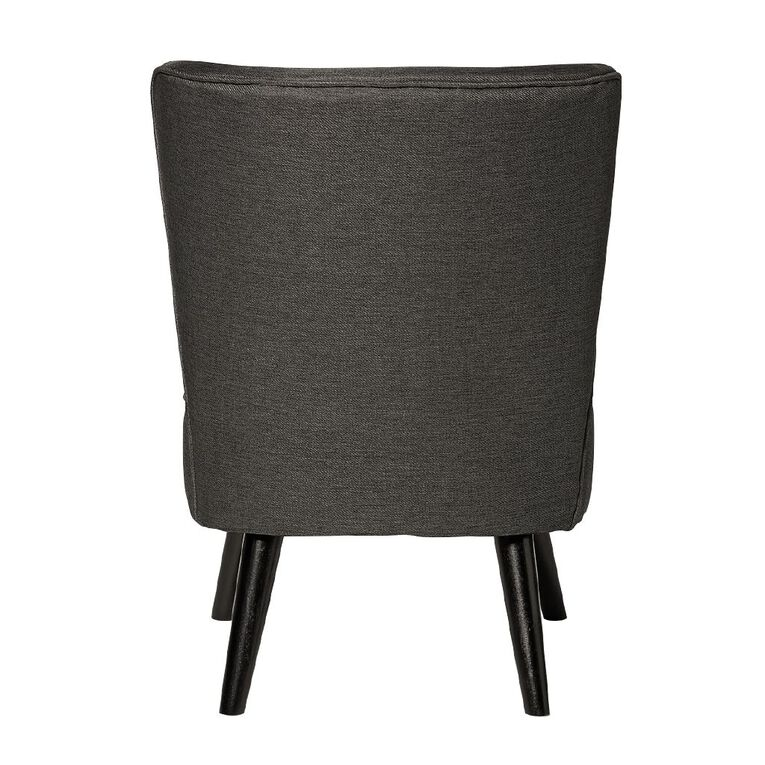 Living & Co Emily Chair Charcoal, , hi-res
