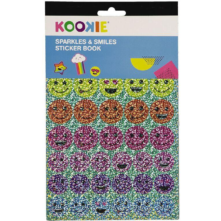 Kookie Sticker Book 5 Page Sparkles & Smiles, , hi-res