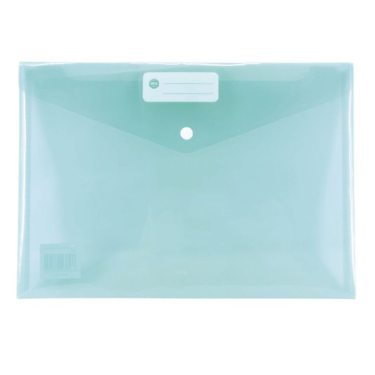 WS Document Envelope Single Dome Minty, , hi-res