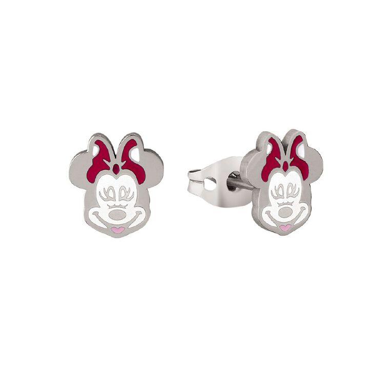 Disney Minnie Mouse Stud Earrings, , hi-res