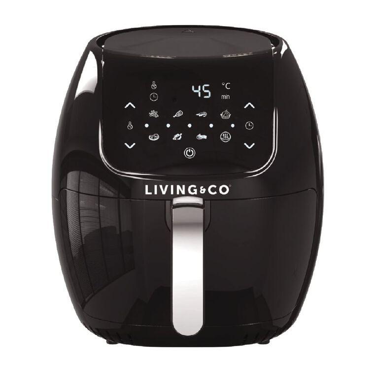 Living & Co Digital Air Fryer 6 Litre, , hi-res image number null