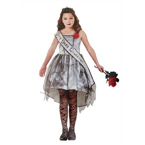 Amscan Gothic Beauty Queen Costume 8-10 Years