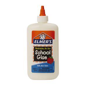 Elmer's PVA School Glue White Washable 225Ml White