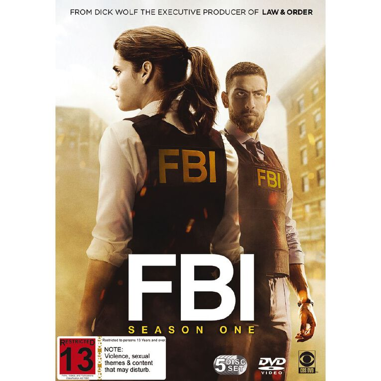 Fbi Season 1 DVD 5Disc, , hi-res