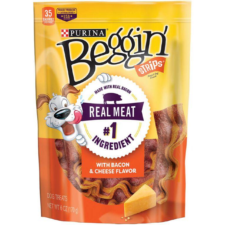 Beggin Beggin' Strips Bacon and Cheese 170g, , hi-res