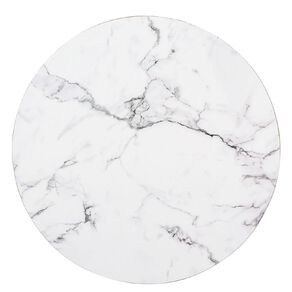 Living & Co Printed Placemat Marble Round 33cm