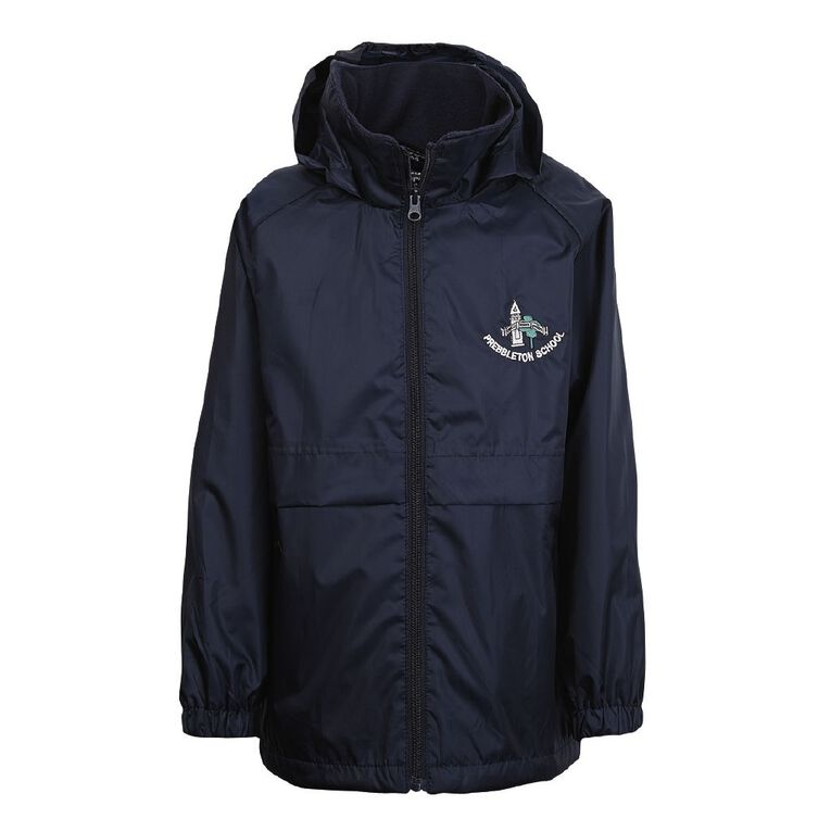 Schooltex Prebbleton School Jacket with Embroidery, Navy, hi-res