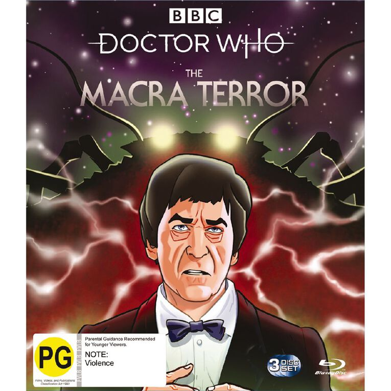 Doctor Who (1966) The Macra Terror Blu-ray 3Disc, , hi-res