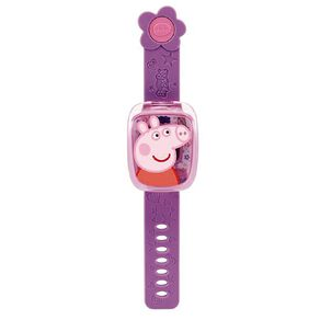 Vtech Peppa Pig Learning Watches Purple