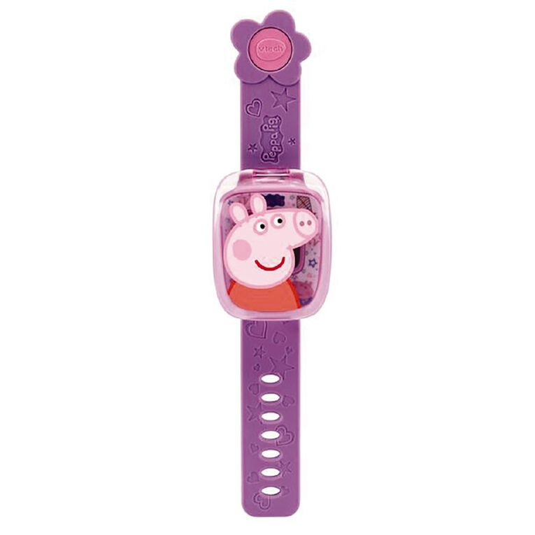 Vtech Peppa Pig Learning Watches Purple, , hi-res