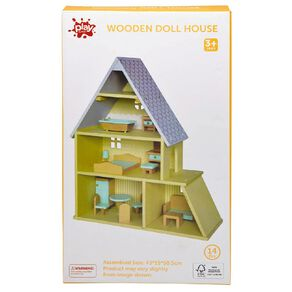 Play Studio Wooden Doll House