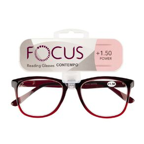 Focus Reading Glasses Contempo 1.50