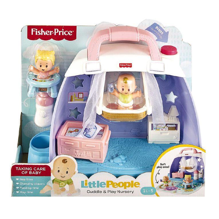 Fisher-Price Little People Babies Cuddle & Play Nursery, , hi-res