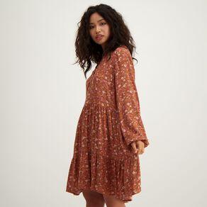 H&H Women's Printed Tier Dress