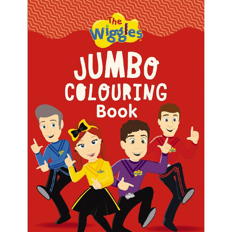 The Wiggles: Jumbo Colouring Book by Teh Wiggles, , hi-res image number null