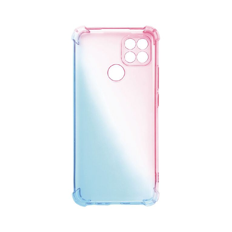 Oppo A15 Phone Case Pink/Blue, , hi-res