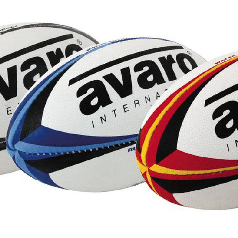 Avaro Rugby Ball Mini Assorted One Size, Assorted, hi-res image number null