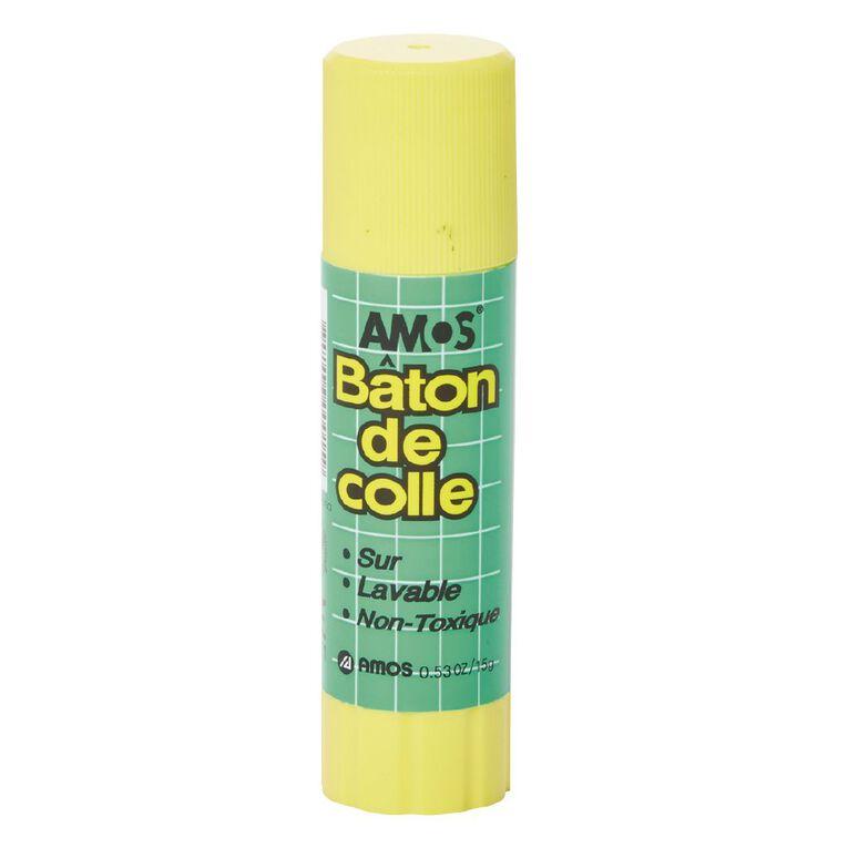 Amos Glue Stick 15g, , hi-res
