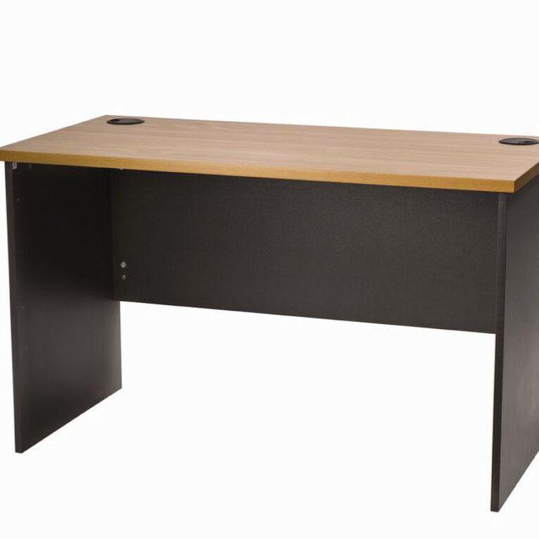 Firstline Desk 1200 Beech/Ironstone, , hi-res