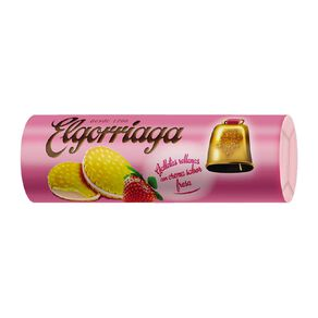 Elgorriaga Strawberry Filled Biscuit 500g