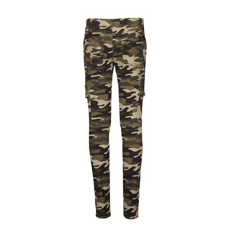 Young Original Cargo Pocket Pant, Khaki, hi-res