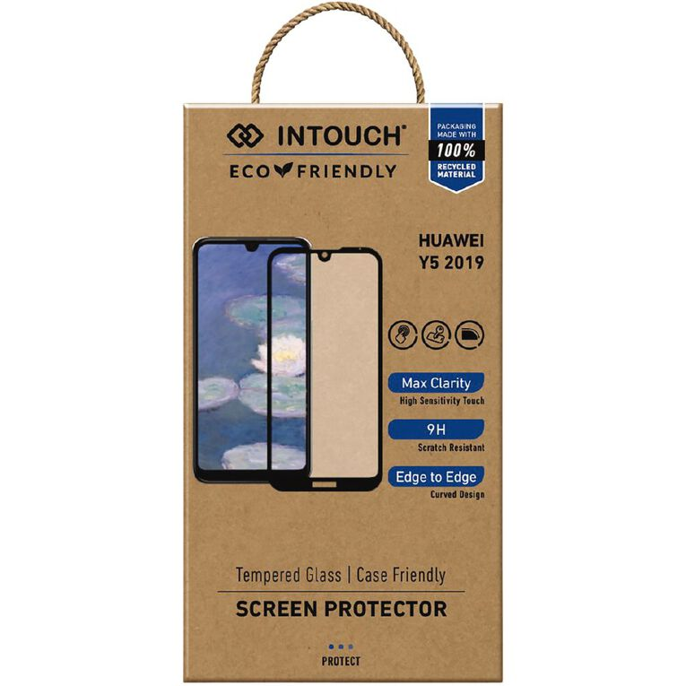 INTOUCH Huawei Y5 (2019) Glass Screen Protector Clear, , hi-res