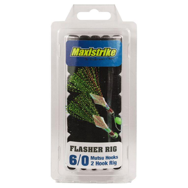 Maxistrike Mutsu Hook Flasher Rig 6/0, , hi-res