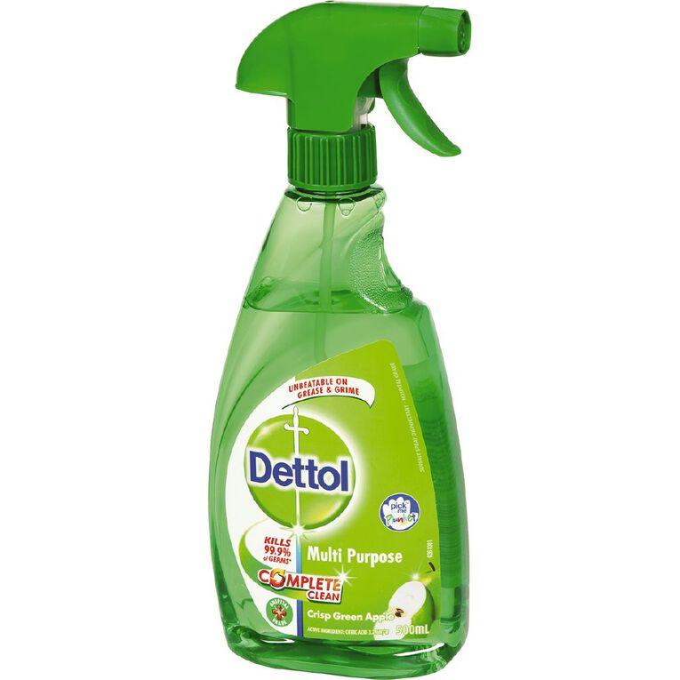 Dettol Multi Purpose Cleaner Apple Trigger 500ml, , hi-res