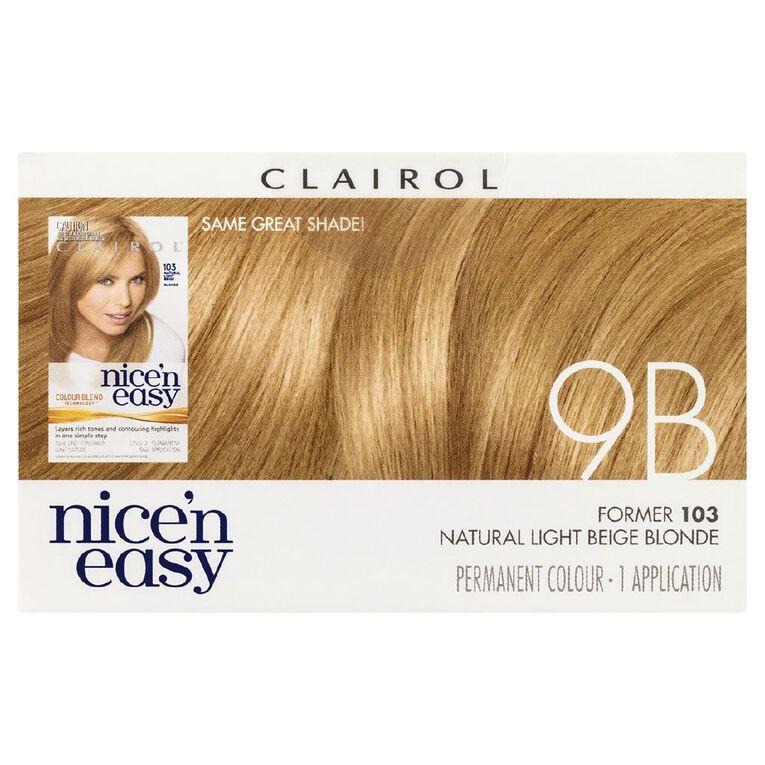 Nice 'n Easy Light Beige Blonde 9B (former 103), , hi-res