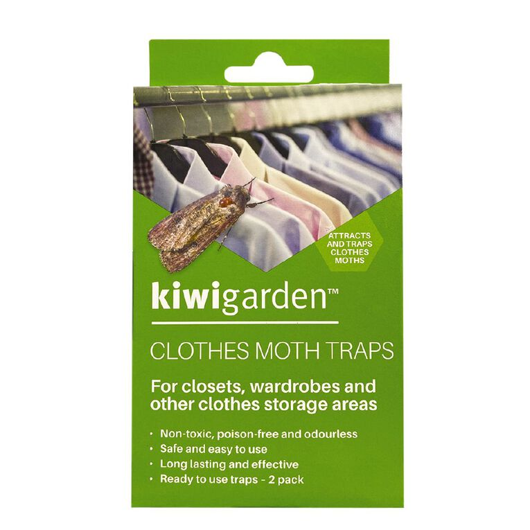 Kiwi Garden Clothes Moth Traps 2 Pack, , hi-res