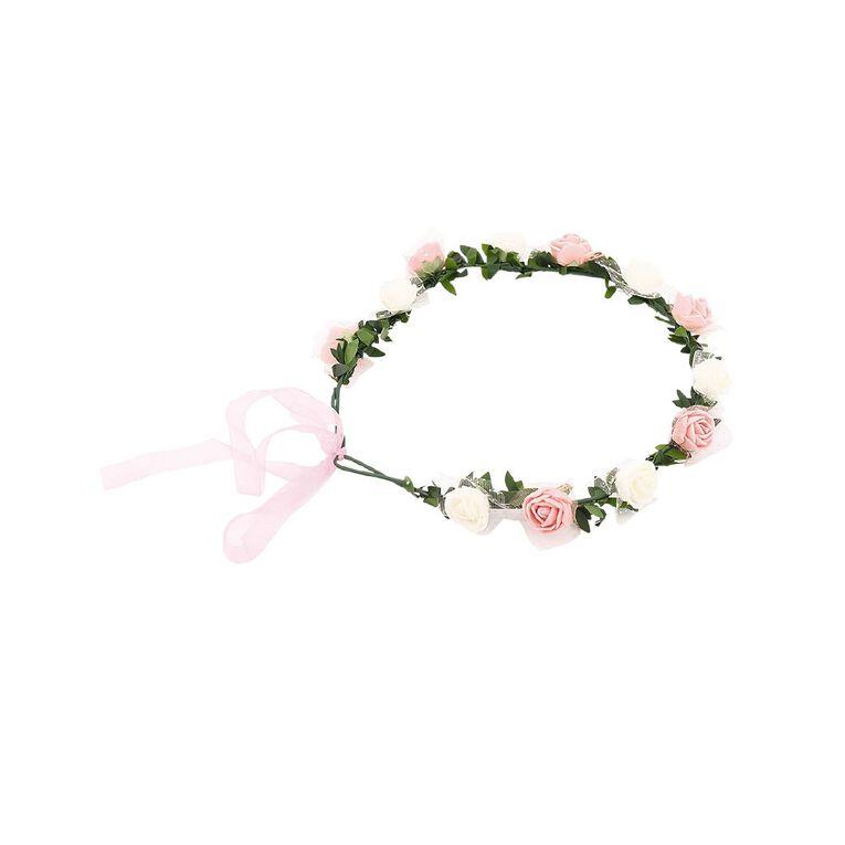 Play Studio Flower Crown White & Peach, , hi-res