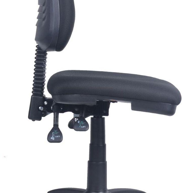 Workspace Ergo 3 Lever Midback Chair Black, , hi-res