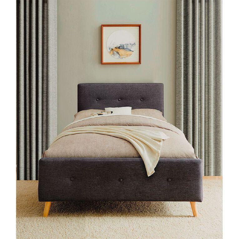 Living & Co Boston Bed Frame Single, , hi-res