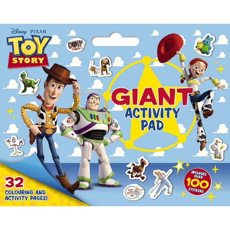 Disney-Pixar: Toy Story Giant Activity Pad, , hi-res image number null