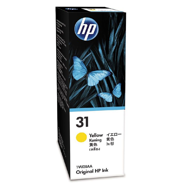 HP Ink 31 Yellow 70ML (8000 Pages), , hi-res