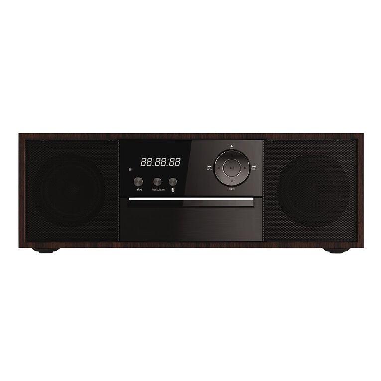 Veon Bluetooth Wooden CD Micro System VNK172019, , hi-res