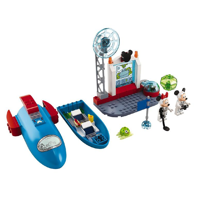 LEGO Mickey Mouse & Minnie Mouse's Space Rock 10774, , hi-res