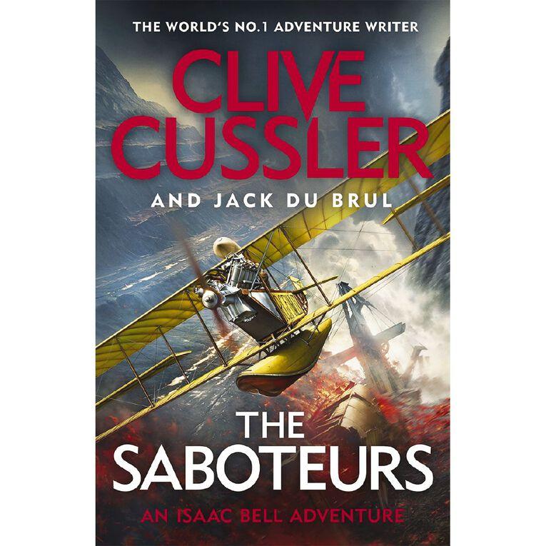 The Saboteurs by Clive Cussler, , hi-res