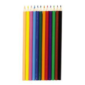 Kookie Watercolour Pencils Multi-Coloured 12 Pack