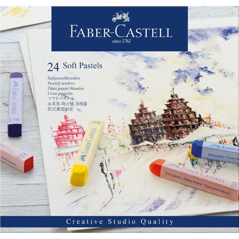 Faber-Castell Soft Pastels 24 Pack, , hi-res