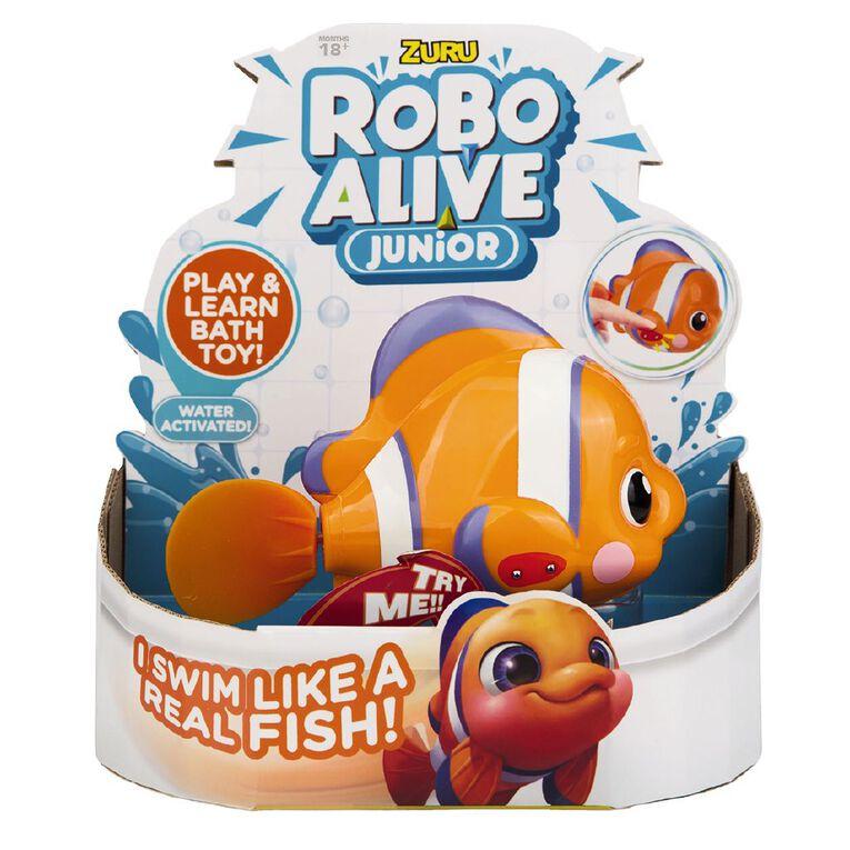 Zuru Robo Alive Junior Robotic Fish Assorted, , hi-res