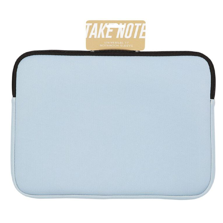 Positivity 11 inch Universal Notebook Sleeve Blue, , hi-res