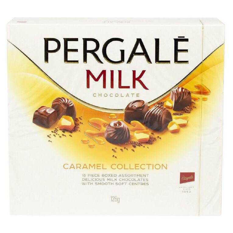 Pergale Milk Chocolate Caramel Collection Tray 126g, , hi-res