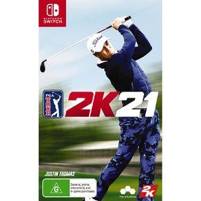 Nintendo Switch PGA 2K21
