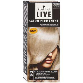 Schwarzkopf Live Salon Permanent 10-2 Extra Light Pearl Blonde