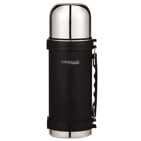 Thermos Insulated Vacuum Flask Black 1L