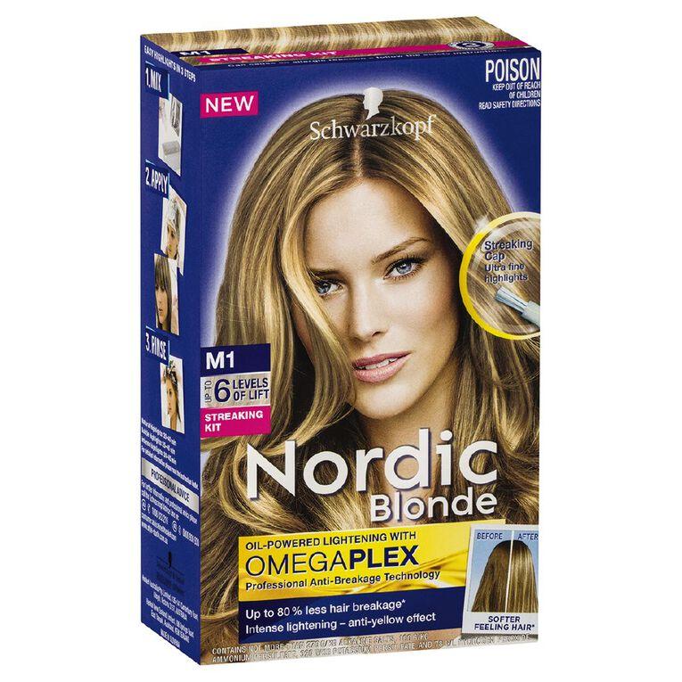 Schwarzkopf Nordic Blonde M1 Streaking Kit, , hi-res