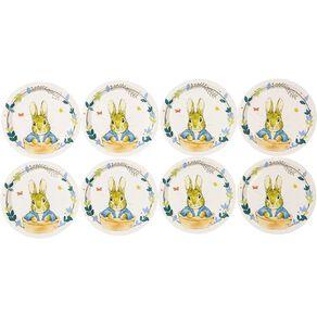 Peter Rabbit Beatrix Potter Paper Plates 18cm 8 Pack